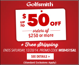 Golfsmith Two Day Sale 300x250