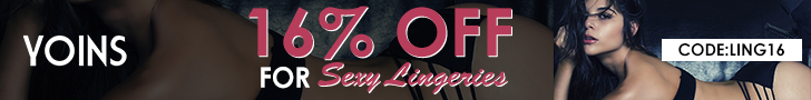 16% off for Sexy lingeries