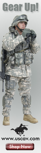 Get your military Gear at U.S. Cavalry