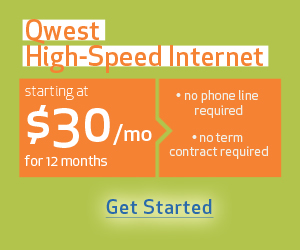 Qwest DSL without dial-tone for 39.99