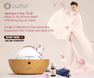 Puzhen Valentines Day Promotion