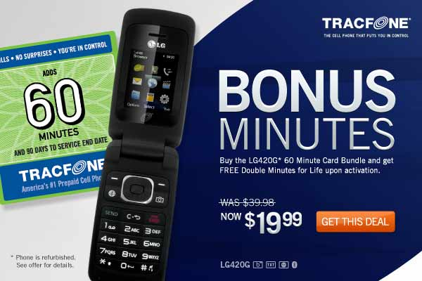 Add Minutes to TracFone