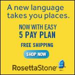 Rosetta Stone - Fastest way to learn a language.