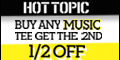Free Shipping on orders over $40 at HotTopic.com