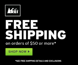 Free Shipping at REI