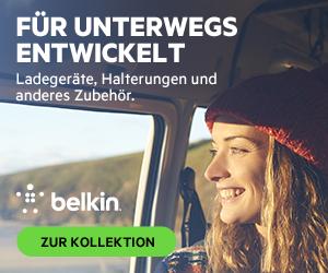 Belkin - Für unterwegs entwickelt - Ladegeräte, Halterungen und anderes Zubehör.