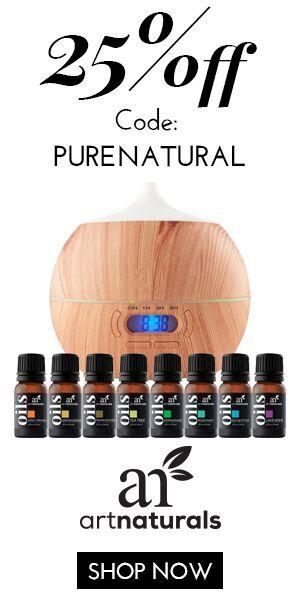 25% Off Bluetooth Diffuser + 8 essential oils by artnaturals