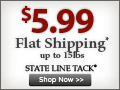Get $5.99 Flat Economy Shipping - No Minimum!