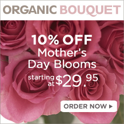 10% Off Mother's Day Bouquets Starting at $24.95!