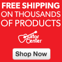 Lowest Price and Free Shipping at GuitarCenter.com
