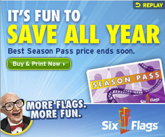 Six Flags Theme Parks - Buy Online Now!