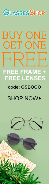 Buy One Get One FREE on All Frames and Lenses with code GSBOGO Offer Expires - 07/10