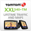 TomTom XXL 540TM (Lifetime Traffic & Maps Edition)