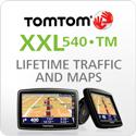 TomTom XXL 540TM (Lifetime Traffic & Maps Edition)