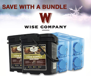 -30% Off 120 Servings of Wise Emergency Survival Food Entrees + Free Shipping! No code needed. valid 7/22 - 7/25 -