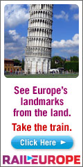 See Europe's landmarks by rail