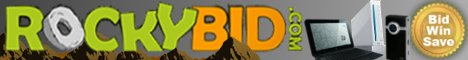 RockyBid.com - Bid, Win, Save
