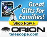 Ad for Orion Telescopes (telescope.com)