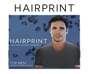Hairprint Womans Treatment Kit for Restoring Gray Hair