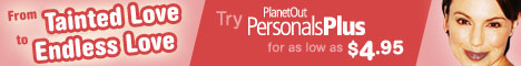 PlanetOut Personals - Gay and Lesbian Community