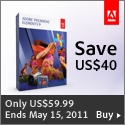 Adobe Premiere Elements 9 only $59.99