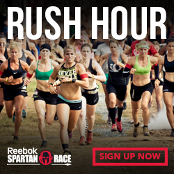 Sign up for a Reebok Spartan Race Today!