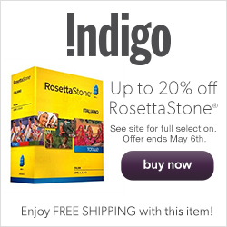 Save Up to 20% on RosettaStone!