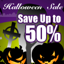 Halloween Sales, Save Up to 50% + Free shipping