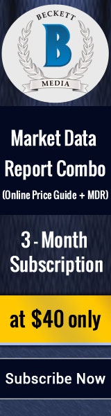 Save 16% on 3 Months Market Data Report Combo Subscription (Online Price Guide +MDR) .Special Price: