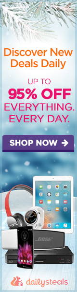 Daily Steals Up to 95% Off!