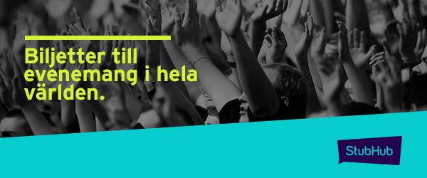 StubHub - Biljetter till evenemang i hela världen.