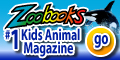 120x60 #1 Kid's Animal Magazine