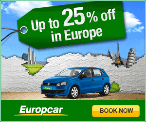 Europcar english 300x250 2 free days