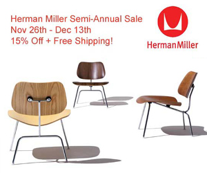 Herman Miller 15% Off at Velocity through Dec. 13