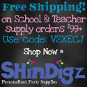 Get FREE shipping on school and teacher supply orders $99+ at Shindigz. Use code VSCJAV. Expires 12/