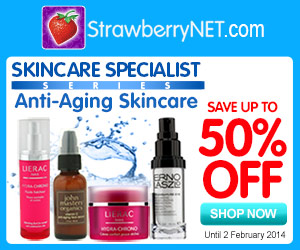Skincare Specialist Series: Save Up to 50% OFF Anti-Aging Skincare at strawberryNET.com!