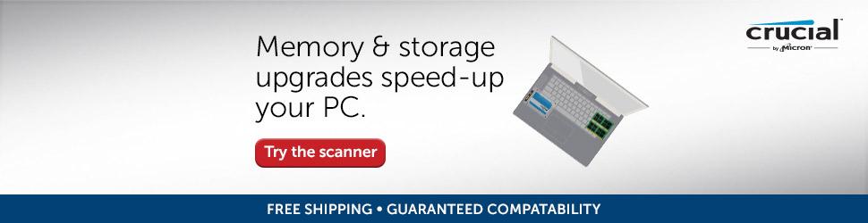 Crucial memory upgrade