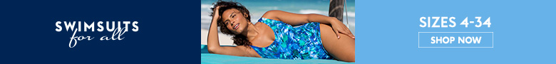 Shop swimwear sizes 4-34 at SwimsuitsForAll.com!