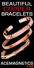 Copper Bracelets under $20 at AceMagnetics.com