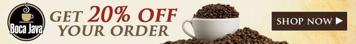 20% Discount Coupon BocaJava Coffee - Act Now!