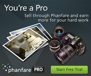 Earn more from your photos - Sell through Phanfare