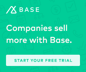 Sell more with Base CRM software!