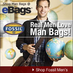 Fossil Man Bags @ eBags