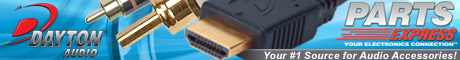Parts Express – Dayton Audio (HDMI & A/V Cables)