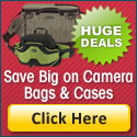 Save on Camera Bags & Cases