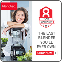 Save an additional $30 on Blendtec Factory Recertified Blenders + Free Shipping