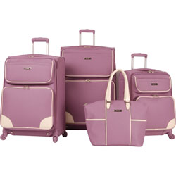 Nine West Rendezvous 4 Piece Spinner Luggage Set Now Only $199.95 Org. $1,160.00 Plus Free Shipping. Use Promo Code NWRD at checkout.