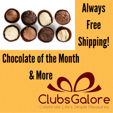 Gourmet Chocolate of the Month Subscription