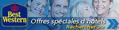 Hotel Best Western :Hotels de 3 à 4 étoiles situés dans toute la France. Pour réserver dans l'un de leurs 300 hotels en France (155 destinations) ou séjourner dans un hotel Best Western à l'étranger rien de plus simple que la réservation en ligne. Alors n'attendez plus et faites votre choix parmi les 4 032 hotels Best Western à votre disposition.