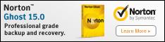 New Norton Ghost 15.0